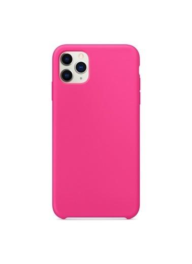 Microsonic Apple iPhone 11 Pro (5.8'') Kılıf Liquid Lansman Silikon Pitaya Renkli